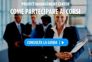 iscrizione corsi project management