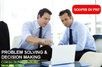formazione problem solving