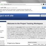 Sito di progetto: creazione ed utilizzo