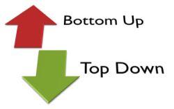 top down e bottom up