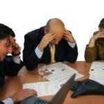 Errori nella gestione delle riunioni