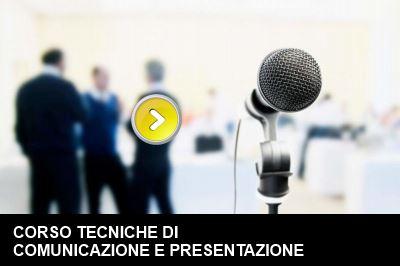 corso tecniche di comunicazione e presentazione