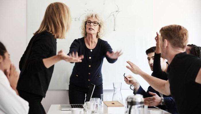 conflitto sul posto di lavoro